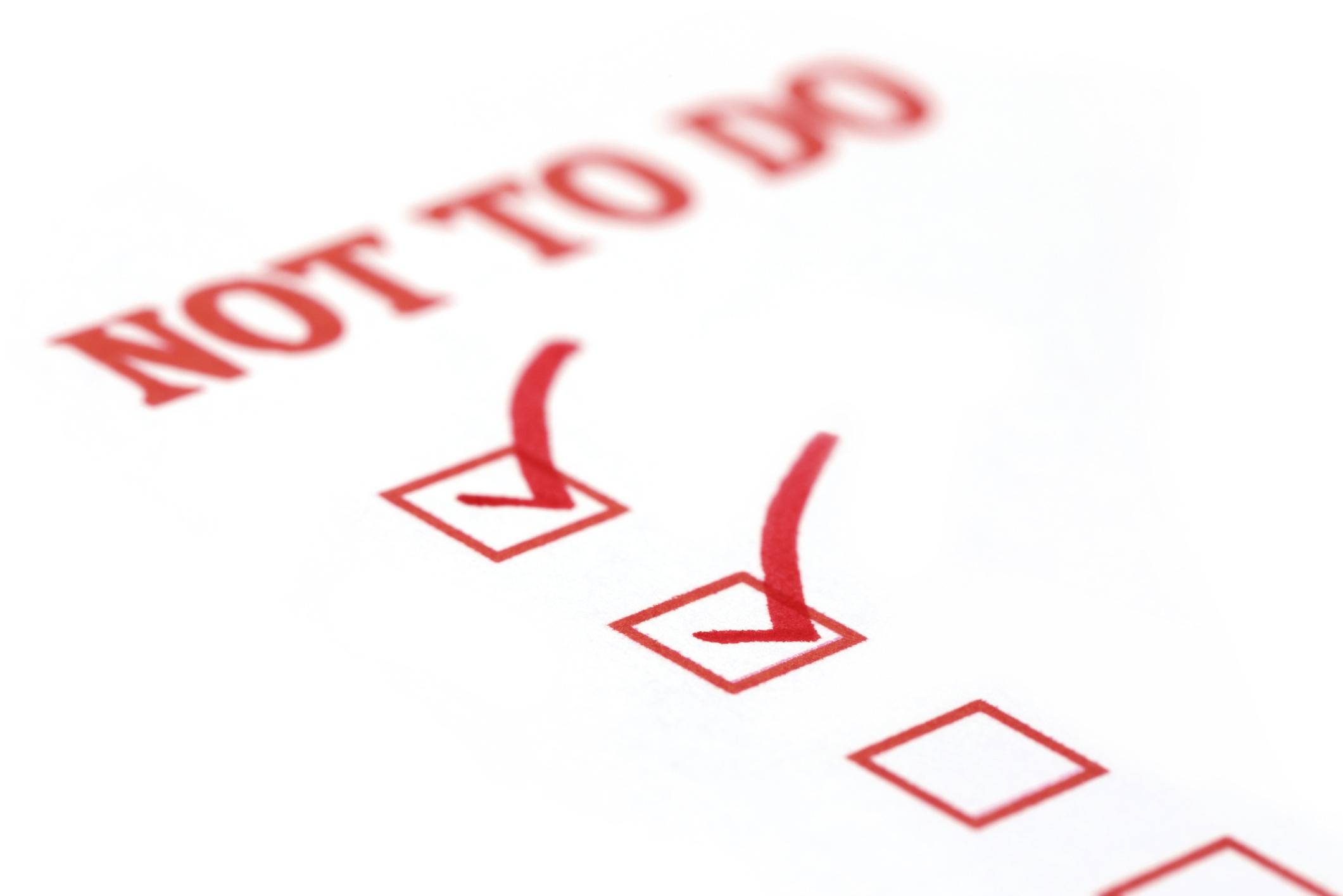 4 Common Main Menu Mistakes To Avoid