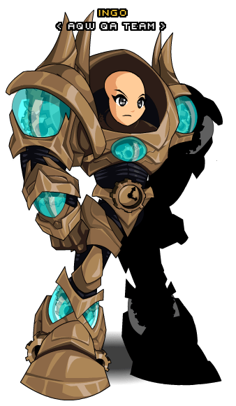 ChronoCommander Armor AQW