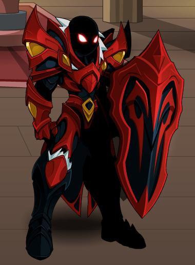 Crimson Knight and Shield  AQW