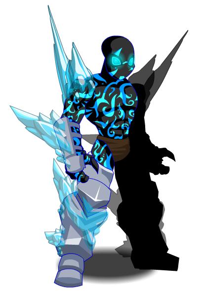 Envenomed Ice Symbiote  AQW