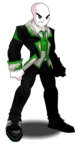 Green Wedding Guest  AQW