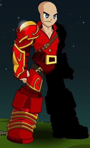Red Dwarf Warrior Armor  AQW
