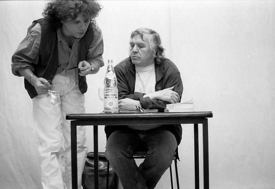 Wolfgang Hilbig und Siegfried Ressel 1994 in Potsdam Foto: Matthias Marx