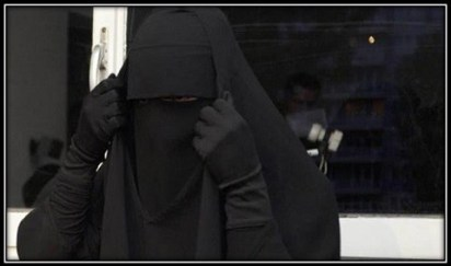 17. Chjornoe odejanie zhenshhiny pri opasnosti - 17. Чёрное одеяние женщины при опасности