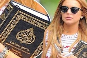 ليندسي لوهان تعتنق الإسلام وتحذف صورها من على الإنستغرام ؟؟
