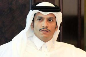 وزير الخارجية القطري سنصمد للأبد أمام الحظر وقطر ترحب بجميع المبادرات العسكرية