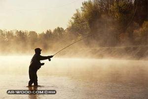 صيد الاسماك فى النيل فى الشتاء