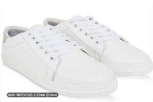 طريقة تنظيف الحذاء الأبيض الجلد