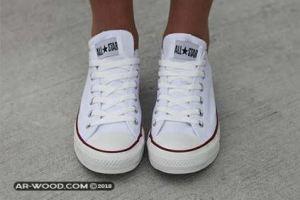 كيف انظف الحذاء الأبيض القماش