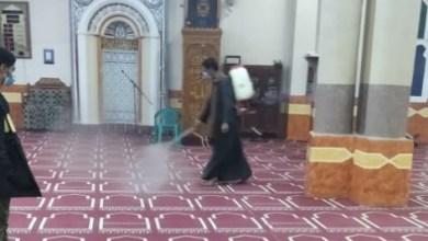 صورة بالصور :مديرية أوقاف قنا تواصل حملتها   لنظافة وتعقيم المساجد التابعة لها