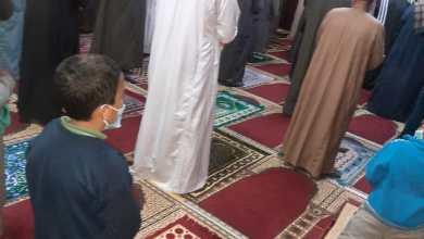 صورة بالصور :  رواد المساجد بأوقاف المنوفية في ثالث أيام صلاة التراويح  يلتزمون بتعليمات وزارة الأوقاف