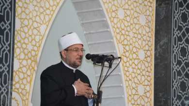صورة  خطبة الجمعة لمعالي وزير الأوقاف   بمسجد الغنيمي بمحافظة الشرقية