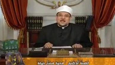 """صورة  في الحلقة السادسة والعشرين من برنامج """"رؤية""""  على الفضائية المصرية"""