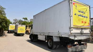 صورة بالفيديو والصور: انطلاق سيارات توزيع لحوم الأضاحي إلى محافظات: (الإسكندرية – شمال سيناء – القاهرة – الأقصر – جنوب سيناء – السويس )
