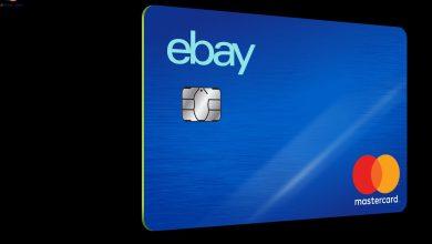 صورة درجة الائتمان المطلوبة للحصول على بطاقة ائتمان eBay