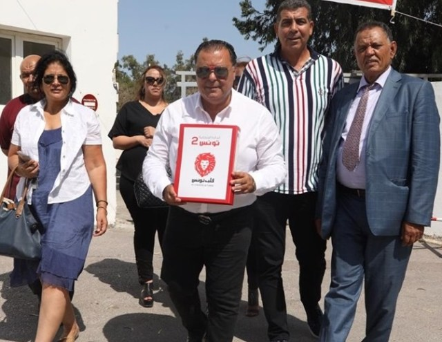 """الإنتخابات التشريعية : منير البلطي مرشّح """" قلب تونس """" في دائرة تونس 2"""
