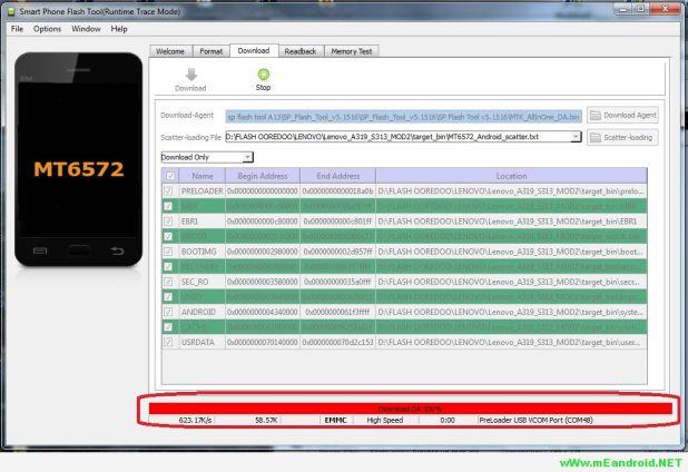 شرح تركيب الروم الرسمي Cherry Mobile Flare S7 Prime