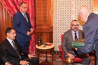 الملك يستقبل العثماني ووزيري الداخلية والاقتصاد والمالية