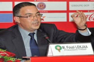لقجع يعزي أسرة محمد جرير أول لاعب مغربي سجل هدفا في المونديال