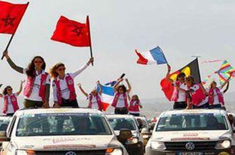 أميرة ضمن المشاركات في رالي عائشة