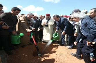 أخنوش يشرف على إطلاق عدد من المشاريع الفلاحية بتزنيت
