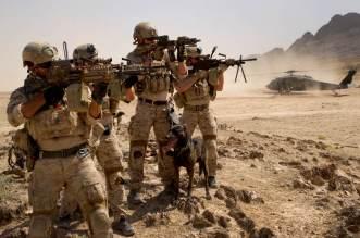 """فيديو – بعد وصفها البوليساريو بـ""""الانفصالية.. طائرات حربية أمريكية تحلق فوق الصحراء"""