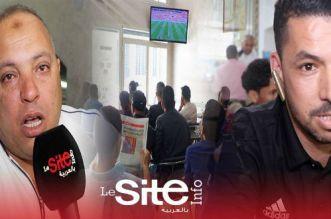 بالفيديو.. في مشهد مؤثر.. مغربي يبكي لسوء حظ أسود الأطلس