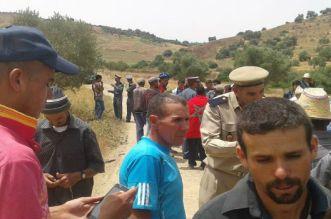 سكان دواوير وزان يخرجون في مسيرة على الأقدام بسبب العطش