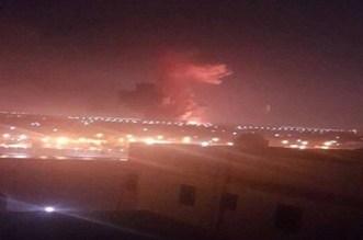 بالفيديو.. انفجار قوي قرب مطار القاهرة