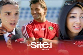 بالفيديو – مغاربة: رونار مدرب كبير وجابنا حتى للقاصح وخصرها