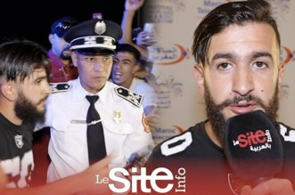 "بالفيديو – رد فعل ""تيو تيو"" أمام شرطي"