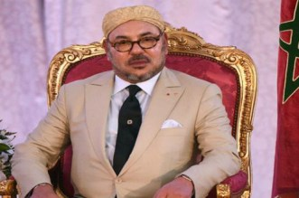 برقية تعزية من الملك إلى عاهل المملكة الأردنية الهاشمية