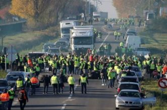 إصابات في صفوف محتجين ضد ارتفاع اسعار المحروقات بفرنسا
