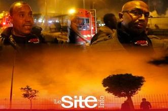 """بالفيديو.. هذه الأسباب الحقيقية وراء اندلاع حريق قرب محطة """"أولاد زيان"""""""