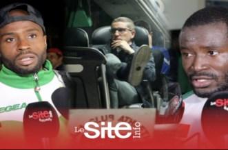 بالفيديو.. لاعبو الرجاء يتحدثون عن هزيمة النادي أمام النجم الساحلي التونسي