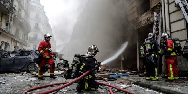 انفجار قوي بمخبزة يُسقط عدداً من الجرحى بباريس
