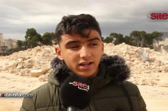 بالفيديو.. سكان فاس يحكون تفاصيل انهيار سور أدى إلى وفاة شخص متشرد
