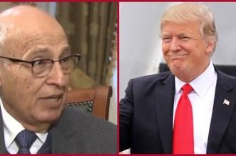 """شعث الفلسطيني من الرباط: """"ترامب"""" رسب عندي في ثلاث مواد"""