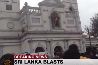 فيديو – سلسلة انفجارات بكنائس وفنادق في سريلانكا تخلف مئات القتلى والجرحى