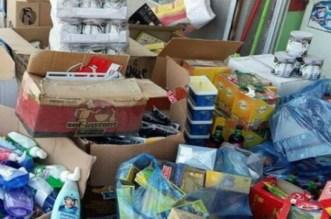 حجز وإتلاف 972 طنا من المنتجات الغذائية غير صالحة للاستهلاك
