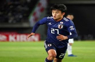 """كل ما قدمه لاعب ريال مدريد الجديد """"ميسي اليابان"""" أمام منتخب التشيلي"""