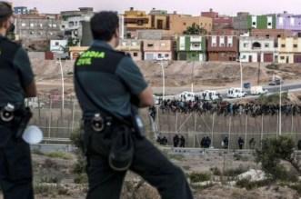 """فيديو.. مواجهات دامية بين """"حراكة"""" مغاربة وقوات إسبانية"""