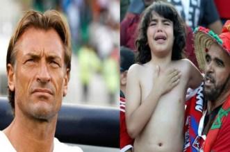 """بعد الإنتصار على ناميبيا.. """"رونار"""" ينشر صورة الطفل """"ريان"""" ويخاطب """"المغاربة"""""""