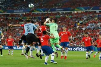 أوروغواي يُسقط تشيلي ويضعه في مواجهة كولومبيا- فيديو