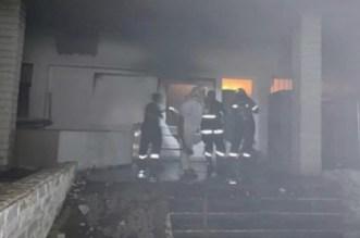 حريق بمستشفى الأطفال بالرباط