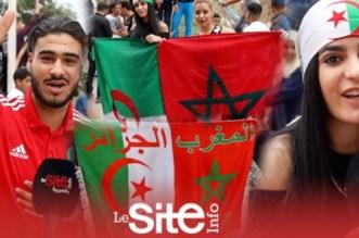 """بشعار """"خاوة خاوة"""".. زحف مغربي نحو الحدود لمساندة """"محاربي الصحراء"""" في نهائي """"الكان""""-فيديو"""
