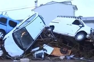 6 قتلى في فيضانات إسبانيا وخسائر مادية مهمة