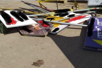السلطات المحلية تشن حملة شرسة ضد اللوحات الإشهارية بوجدة
