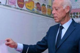 انتخابات تونس.. قيس سعيّد في الصدارة