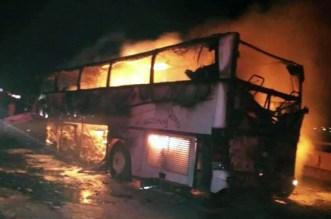 حادث مروري يُخلّف مقتل 35 معتمراً بالمدينة المنورة